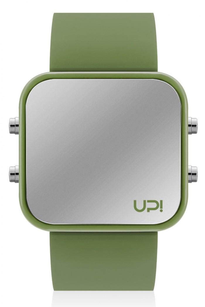 Up! Watch Led Green Unisex Kol Saati